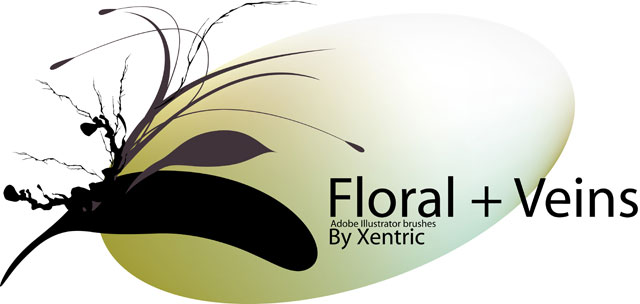 floral illustrator brush