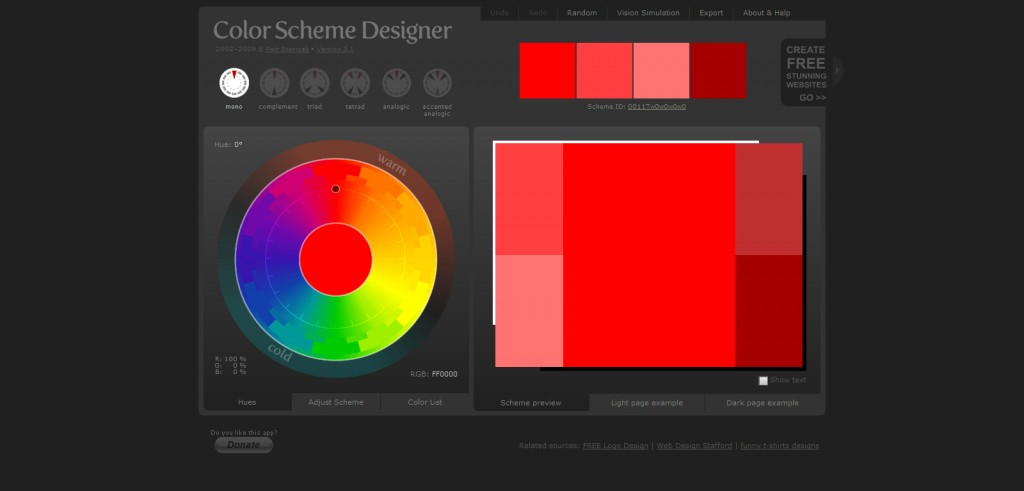 colorschemedesigner. 1024x491 Top 22 Helpful Color Tools for Designers