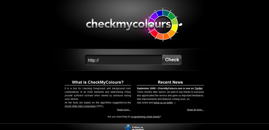 checkmycolours 1024x496 Top 22 Helpful Color Tools for Designers
