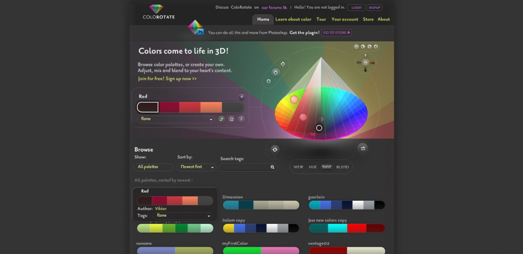 colorotate 1024x497 Top 22 Helpful Color Tools for Designers