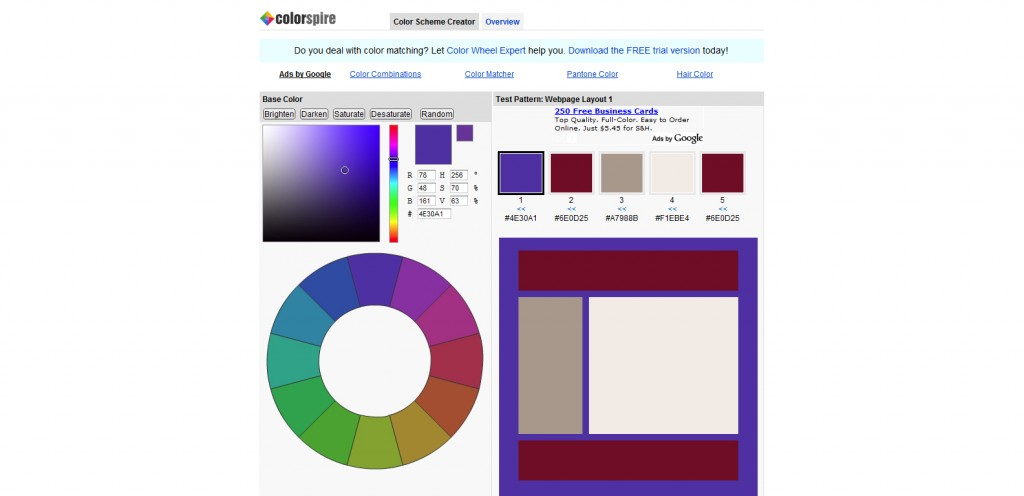 colorspire 1024x496 Top 22 Helpful Color Tools for Designers